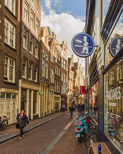 A Side Street in Amsterdam