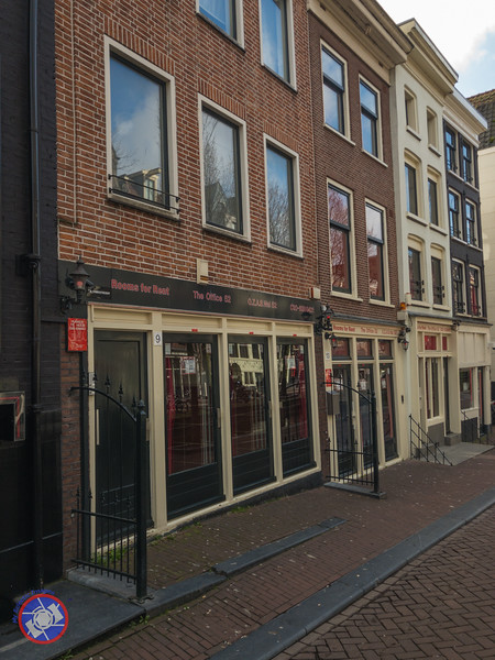 "The Red Light District of Amsterdam - Each Window Represents the ""Show Room"" for a Legal Prostitute (©simon@myeclecticimages.com)"