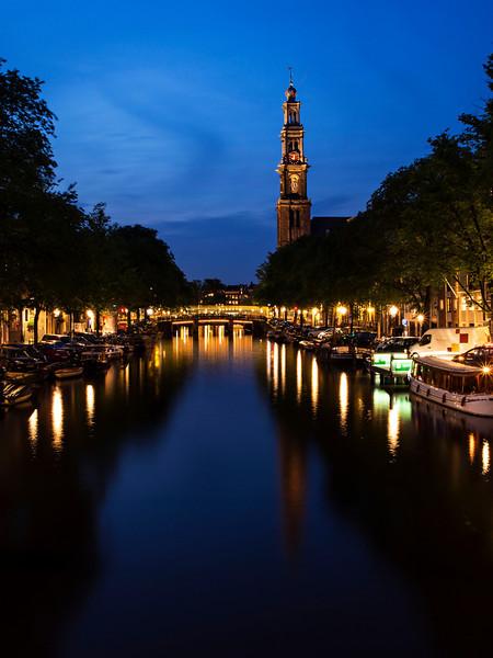 Westerkerk nacht