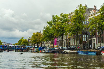 Along the canal, Amsterdam