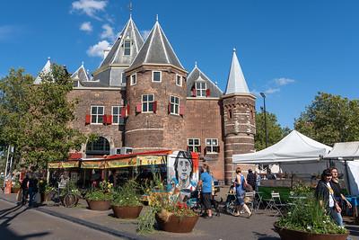 Nieuwmarkt square in Amsterdam