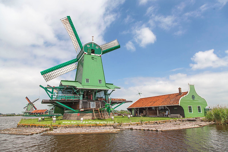 Zaanse-Schans, Noord-Holland, The Netherlands.