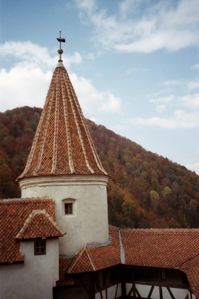 Dracula's Castle in Autumn - Bran, Romania, Romania