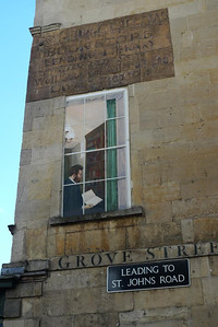 Trompe-l'oeil in Bath