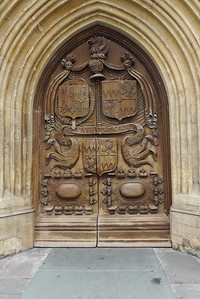 Abbey doors