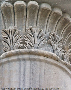 "Because it was first found in Pergamum, this style of capital is called ""Pergamene."""