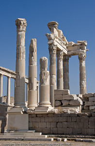 The Temple of Trajan at Pergamum is a 2nd century temple built in the Corinthian order.