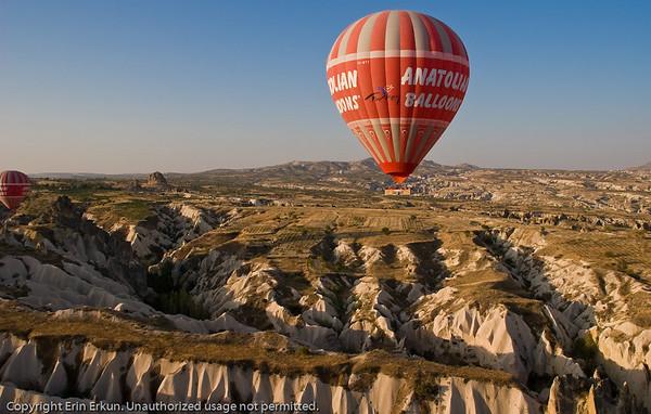 Kapadokya <br>Day 2<br> Hot Air Ballooning