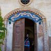 Door detail - Old Greek House