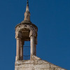 """The """"crescent"""" at the top of the bell tower is part of the structure's conversion to a minaret."""