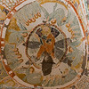 """This fresco of the """"Ascension"""" is painted on the dome of Ağaçaltı Kilisesi (Church Under the Tree), also known as the Church of St Daniel for a fresco bearing his image."""