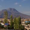 Hasan Dağı (Mount Hasan) is one of three volcanoes whose eruptions helped to shape the Kapadokya landscape.