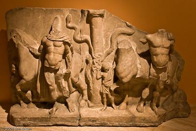 Funerary Stele - Hellenistic Period (Miletus [Balat]) History & Art Museum - Kültür Park