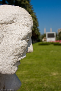 Kültür Park - At least this bust is easily recognizable for what it is.