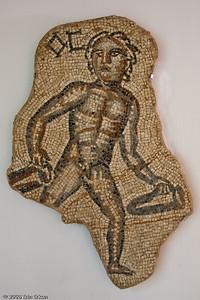 Eros Mosaic - 5th/6th Century AD (Pergamon  [Bergama]) History & Art Museum - Kültür Park