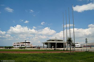 Kordon - The renovated Alsancak Vapur İskelesi (Alsancak Ferry Terminal).