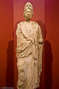 Athena - Roman Period (Ephesus [Efes]) History & Art Museum - Kültür Park  Athena was the Greek goddess of wisdom, war, the arts, industry, justice, and skill.