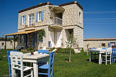 "Also on the grounds of Alaçat Kırevi is this building, affectionately known as ""Küçük Ev"" (Little House)."