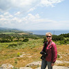 "An ""I was there"" photo op at the Acropolis of Assos."