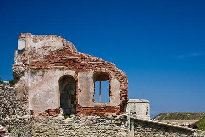 Ruins at Namazgah Tabyası (battery).