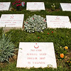 Anzac Cove Loop - Gelibolu (Gallipoli Peninsula):<br /> Grave markers at the 57. Alay Anıtı (Memorial to the 57th Regiment).