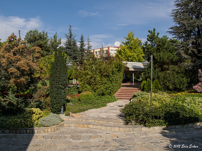 Grounds of the Anadolu University lodgings. 13 Oct 2012