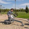 Kent Park - Hakan conducting scientific experiments.<br /> 13 Oct 2012