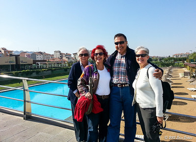 Kent Park - with mom and Iṣıl. 13 Oct 2012
