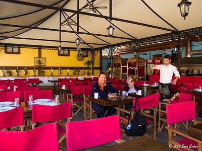 Odunpazarı Evleri - cafe at Yağcı Konağı. Eskiṣehir - 14 Oct 2012