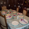 Dinner Party - mom sets a nice table.<br /> 4 Oct 2012