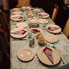 Dinner Party - with his superior height, Murat captures an overall view of the table.<br /> 4 Oct 2012