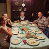 Dinner Party - everyone's at the table.<br /> 4 Oct 2012