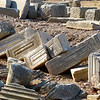 Stone artifacts in Ephesus