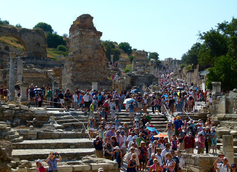 Boomer travel tips for making the most of your Ephesus cruise excursion. #travel #cruises