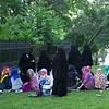headscarves & burqas in Gulhane Park