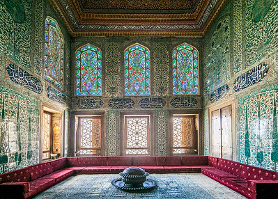 another splendid room in Topkapi Palace