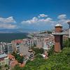 Asensor ascenseur elevator between old Jewish neighborhoods Izmir