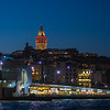 Galata Bridge & Tower at night