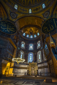 alter of the Hagia Sofia HDR