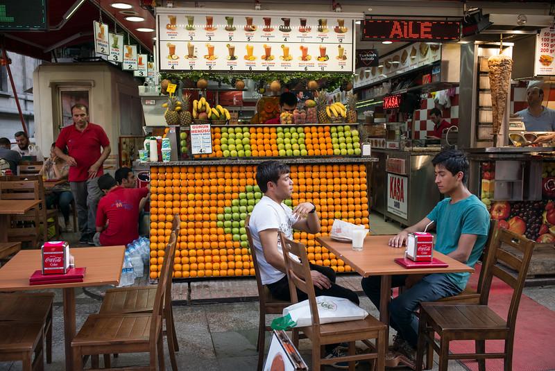 juice bar Istanbul