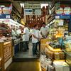 butcher selling among other things pastirma aka pastrami