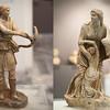 Artemis shooting Niobe's children Heraklion Museum