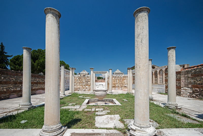 Third Century CE synagogue Sardis