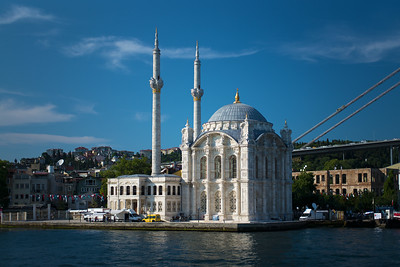 beautiful Ortokoy Mecidiye Mosque