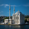 beautiful Ortokoy Mecidiye Mosque