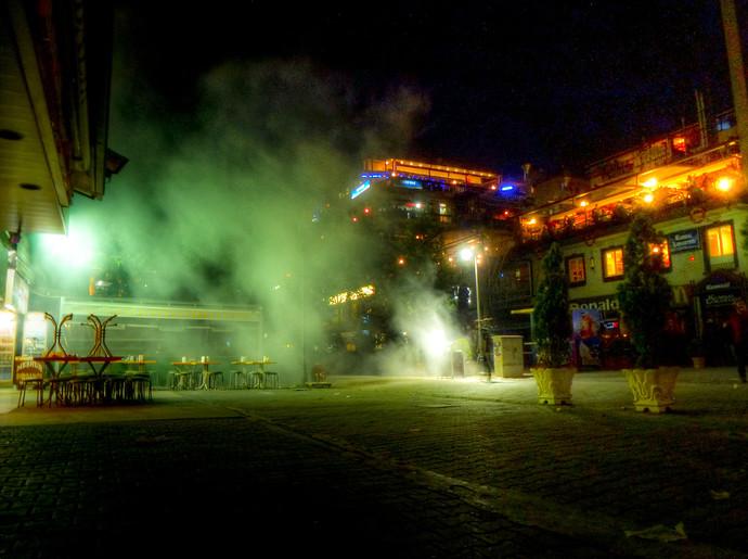 turkey protests tear gas ankara
