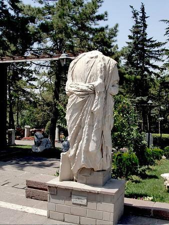 roman statue ankara turkey