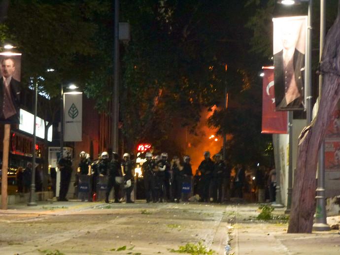 turkish riot police ankara