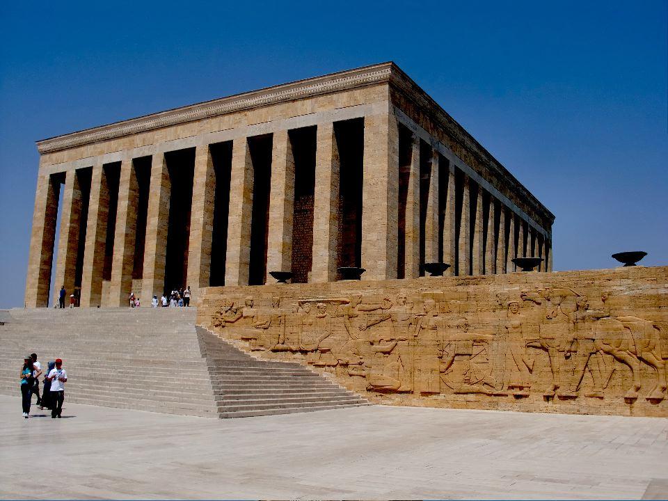 Ataturk's Mausoleum Anitkabir: Ankara, Turkey