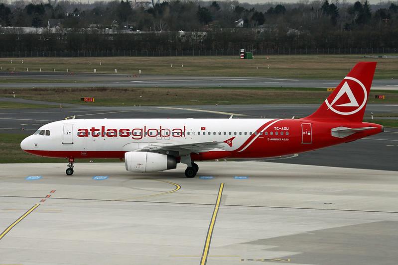 TC-AGU Airbus A320-232 c/n 2077 Dusseldorf/EDDL/DUS 03-03-17